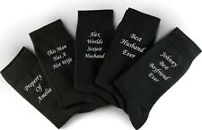 Personalised Socks, Valentines Socks, Anniversary Socks, Valentines Gift,