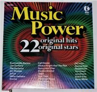 Music Power - K-Tel 22 Original Hits & Stars - 1974 Vinyl LP Record Album