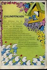 Schlumpfinchen-- Ein Mädchen im Schlumpfdorf-- Schlümpfe -Werbung von 1970