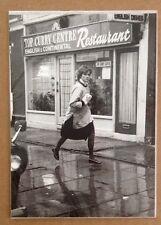 Princess Diana Lady Diana Young Girl Teacher Running In London Press Photo Rare