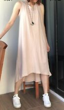 Like New Dusty Pink Simple High Low Dress One Size