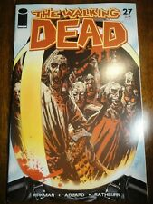 Walking Dead #27 Rare Kirkman Key VF+ 1st Governor Adlard Michonne Print Image