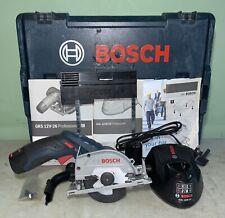 Bosch GKS 12v-26 Circular Saw + 2x 12v-2ah Batteries And Charger