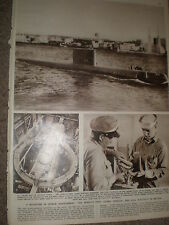 Photo article USA navy first nuclear submarine USS Nautilus 1955 ref Z