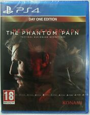 Metal Gear Solid V. The Phantom Pain. Day One. Ps4. Nuevo. Fisico. UK Castellano