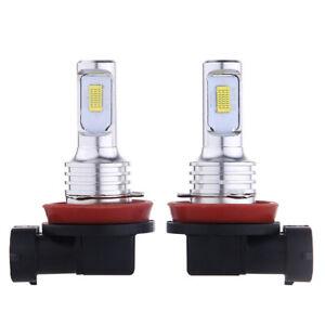 2Pcs H11 H8 H9 35W LED Fog Light Driving Globe Bulb Projector Headlight 6000K AU