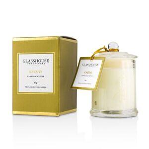 KYOTO - CAMELLIA & LOTUS -  Mini Glasshouse Candle 60G