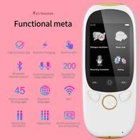 K1 Tragbar Smart Übersetzer 45 Sprachen Voice Wifi Offline Übersetzung Reise