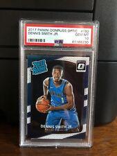 2017-18 Panini Donruss Optic Dennis Smith Jr. Mavericks Rookie Card #192 PSA 10