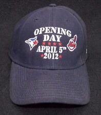 Cleveland Indians Blue Opening Day 2012 Baseball Cap Hat vs Toronto Blue Jays