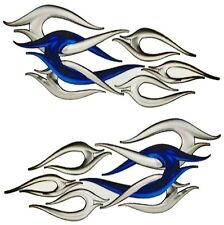"""Boat Car Truck Motorcycle Graphics Decal Vinyl Stickers Flames 18""""x 9"""""""