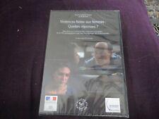 """RARE! DVD NEUF """"VIOLENCES FAITES AUX FEMMES : QUELLES REPONSES?"""" 2 films courts"""