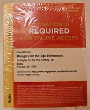 CourseMate for Managers and the Legal Environment: Stratagies for the 21st ,8e