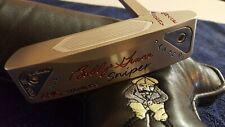"""Super Rare Bobby Grace Stainless Sniper 6-Diamond handmade Prototype Putter 33"""""""
