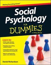 Social Psychology For Dummies(R) (Paperback), Richardson, Daniel, 9781118770542