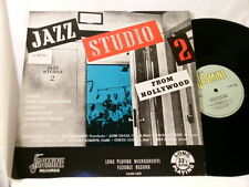 JAZZ STUDIO 2 From Hollywood Marty Paich Herb Geller John Graas LP Curtis Counce
