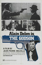 Le Samourai The Godson Alain Delon cult movie poster print