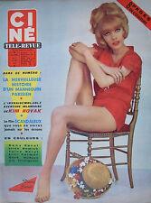 revue cinéma-télé: Ciné Revue: N°31 aout 1963