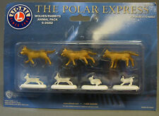 Lionel Polar Express Wolves Bunny Figures train people animals wolf 6-24252 New