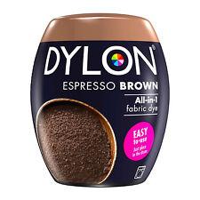 DYLON Textilfarbe Espresso Braun Farbe & Fixierer für 600g Stoff fabric dye