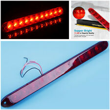 1x 15'' Red 11LED Truck Brake Light Long Bar High Position Alarm Danger Warning