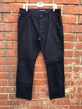 John Varvatos Skull Rivet 34x31 Blue Straight Fit Chino Khaki Work Uniform Pants
