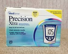 Precision Xtra Advanced Diabetes Management System Glucose Meter MediSense NEW