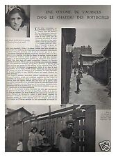 L'ILLUSTRATION 5139 06/09/1941 COLONIE CHATEAU GUETTE ROTHCHILD 41