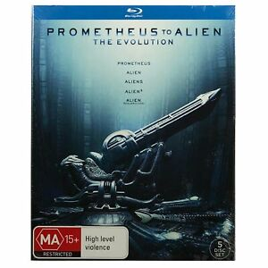 Prometheus To Alien - The Evolution Blu-Ray Box Set *Scratched Slipcover*