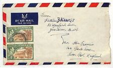 SS221 1947 *JAMAICA* Liverpool Air Mail Cover {samwells-covers}PTS