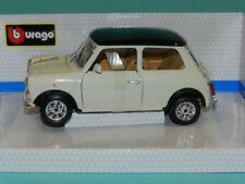 Mini Cooper Year 1969 Cream 1 18 Bburago