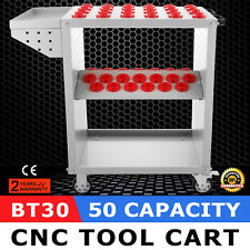 CNC Toolscoot Tool Cart for 30 Taper Tool Holders CAT30 BT30 NMTB