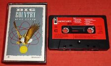 BIG COUNTRY - UK CHROME CASSETTE TAPE - THE SEER - PAPER LABELS