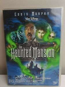 The Haunted Mansion - DVD R4 - Eddie Murphy - Terrence Stamp - PG