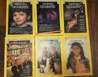 National Geographic Magazines 1974 April, May, Sept. Oct. Nov Dec free shipping