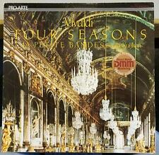 SIGISWALD KUIJKEN vivaldi the four seasons LP Mint- PAD-214 Audiophile DMM 1984
