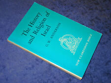 THE HISTORY & RELIGION OF ISRAEL, G.W. Anderson, PB 1979. Middle East, Judaism