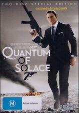 QUANTUM of SOLACE James BOND 007 - Daniel CRAIG (2 DVD SET) NEW SEALED Region 4