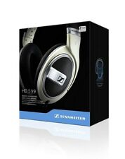SENNHEISER HD-599 Premium Open Back Around-Ear Headphones w/ Acoustic Refinement