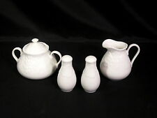 Wedgwood Strawberry & Vine Bone China Accessories Salt & Pepper, Creamer & Sugar