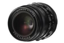 Voigtlander lens VM-mount 35 mm / F 1,7 ULTRON Aspherical, BLACK **NEW**