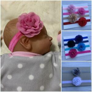 Chiffon Flower Newborn/Baby/Toddler/Girl Headband ,Flower Baby Headband