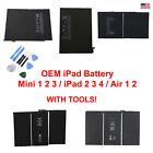 OEM SPEC Internal Li-ion Battery Replacement For IPad Mini 1 2 IPad 3 4 5 6 Air