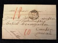 Vorphilatelie Altdeutschland - Brief Faltbrief von 1846    Nr.2