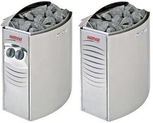 Sauna Heater Harvia Vega 4.5 - 9 kW for 3 - 14 m3 with various control units