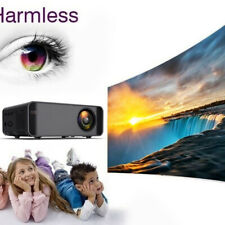 Projector 15000 lumens 1080P HD Android System WiFi  AU White