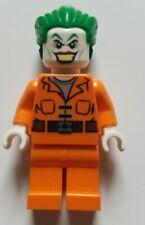 Lego INMATE JOKER Minifig DC Super Heroes 10937 BATMAN ARKHAM ASYLUM BREAKOUT