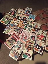 Complete Your 1976 TOPPS FOOTBALL CARD SET most EXMT/NM Pick 20 Points Worth LOT