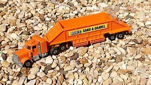 Hot Wheels Steering Rigs Peterbilt Bobs sand and gravel VGC 1981