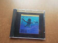 NIrvana Nevermind Mobile Fidelity UDCD 666 beaut audiophile gold CD